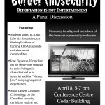Border Insecurity poster