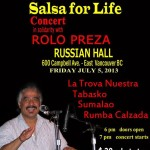 Salsa for Life poster
