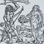 Frontispiece to Vespucci, Mundus Novus