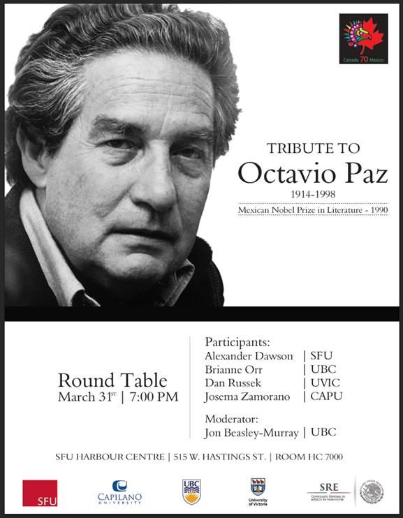 Octavio Paz poster
