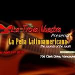 La peña latinoamericana