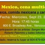 ViVa Mexico-Cena Multicultural