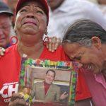 Chávez funeral